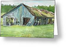 Northern State Farm, Skagit Valley Greeting Card