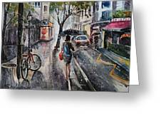 Nothing Better Than The Bad Weather Greeting Card