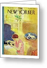 New Yorker November 10, 1951 Greeting Card