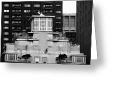 Nyc In Black And White Xiii Greeting Card