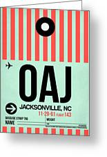 Oaj Jacksonville Luggage Tag I Greeting Card