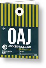 Oaj Oaj Jacksonville Luggage Tag I Luggage Tag I Greeting Card