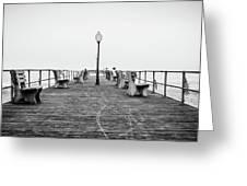 Ocean Grove Pier 1 Greeting Card