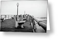 Ocean Grove Pier 2 Greeting Card