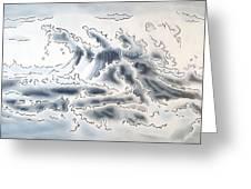 Ocean Rising Greeting Card