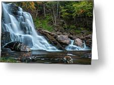 October Morning At Bastion Falls II Greeting Card