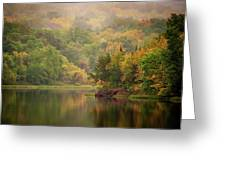 October Reflections II Greeting Card by Jeff Phillippi