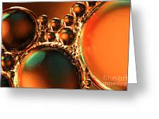 Oil Water Light Greeting Card