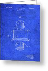 Old Ant Trap Vintage Patent Blueprint Greeting Card