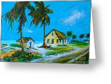 Old Bahama Road Greeting Card