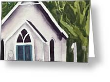 Old Church Copake Falls Greeting Card