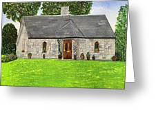 Old Columba's Church Rectory Greeting Card