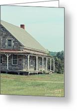 Old Stone Farm House Newbury Vermont Greeting Card