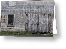 Old Trackside Warehouse Greeting Card