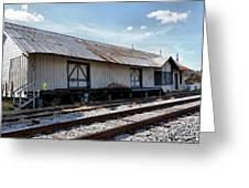 Old Train Depot In Gray, Georgia 2 Greeting Card