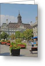 Olde Montreal Greeting Card