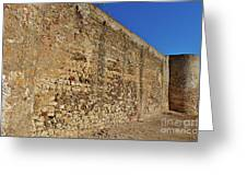 Oldest Castle Of Castro Marim Greeting Card