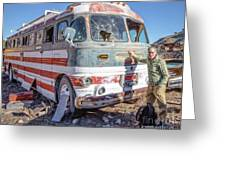 On Location Photographer Edward Fielding In Jerome Arizona Greeting Card