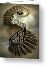 An Old Staircase Greeting Card