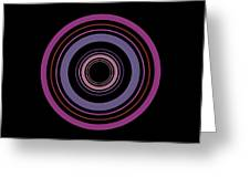 Orbital 5 Greeting Card