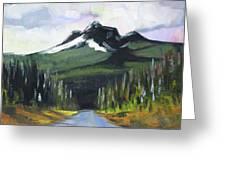 Oregon Road Trip Greeting Card