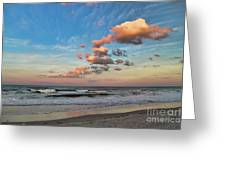 Ormond Beach Sunset Greeting Card