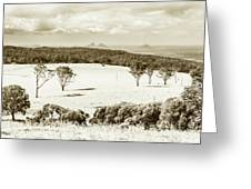 Outback And Beyond Greeting Card