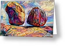 Outback Devils Marbles Greeting Card by Chris Armytage