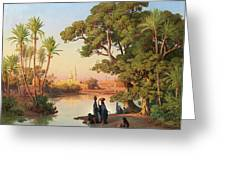 Outskirts Of Cairo Greeting Card