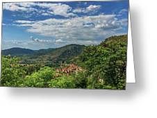 Over Roccassecca  Greeting Card