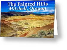 Painted Hills 01 Greeting Card