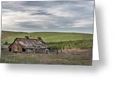 Palouse Barn 9907 Greeting Card
