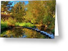 Palouse River Reflections Greeting Card