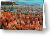 Panorama Bryce Canyon  Greeting Card
