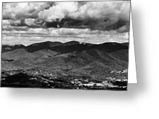 Panorama Melodrama Greeting Card
