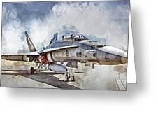 Parked Hornet Greeting Card by Brad Allen Fine Art