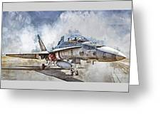 Parked Hornet Greeting Card