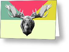 Party Moose Greeting Card