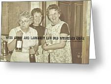 Party Times Quote Greeting Card