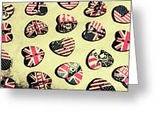 Patriotic Picks Greeting Card