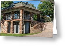 Pavilion At Hubbard Greeting Card