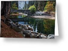 Peaceful Yosemite Greeting Card