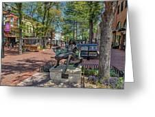 Pearl Street Mall Greeting Card