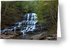 Pearson's Fall And Glen - Saluda North Carolina Greeting Card