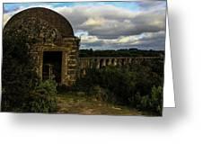 Pegoes Aqueduct Greeting Card