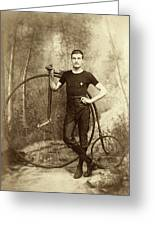 Penny Farthing - High Wheel - Ordinary   Greeting Card