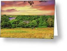 Petersham Landscape Greeting Card