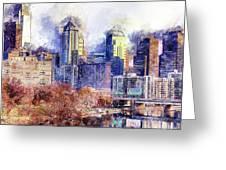 Philadelphia, Pennsylvania - 04 Greeting Card