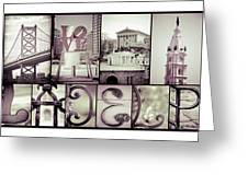 Pieces Of Philly Greeting Card