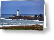Pigeon Point Light Station In San Mateo County Ca Greeting Card
